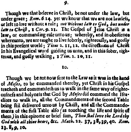 Benjamin Cox, Appendix to the 1644, 7
