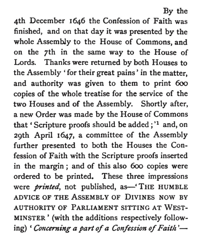 Alexander Mitchell, Westminster Assembly, 366-367