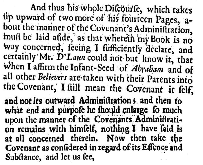 Joseph Whiston, Infant Baptism Plainly Proved, 107-108