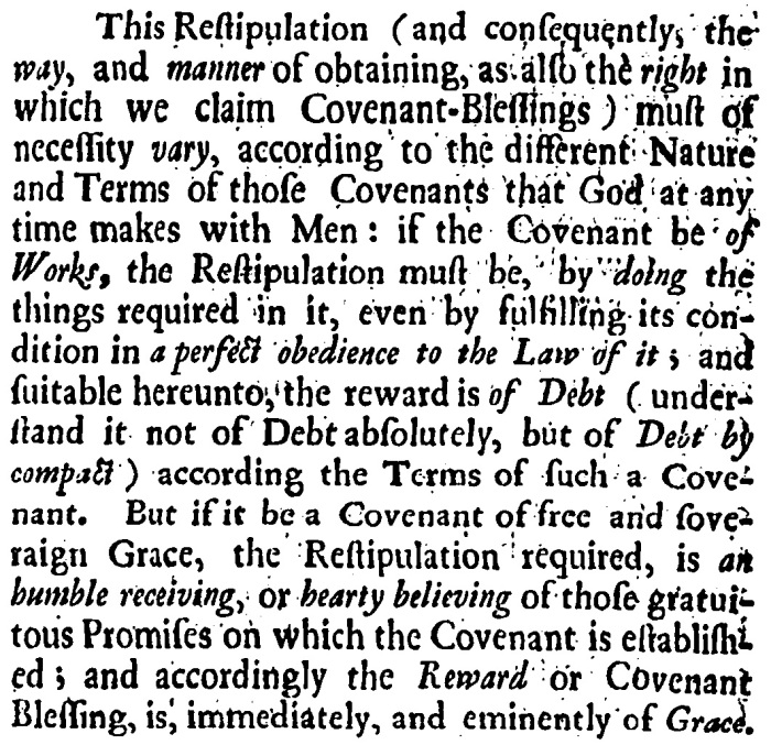 Coxe, Discourse of the Covenants, 9