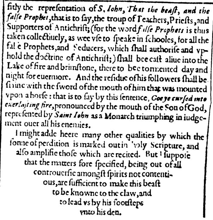 Thomas Beard, Antichrist the Pope of Rome, 9