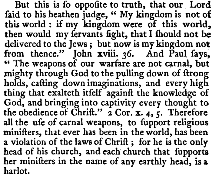 Isaac Backus, An Abridgment, 216