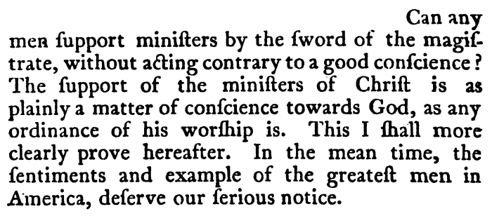 Isaac Backus, An Abridgment, 224
