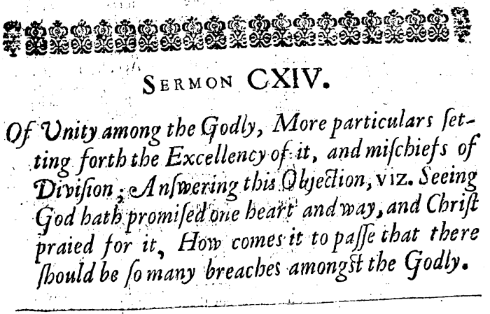 Anthony Burgess, CXLV Expository Sermons, 570