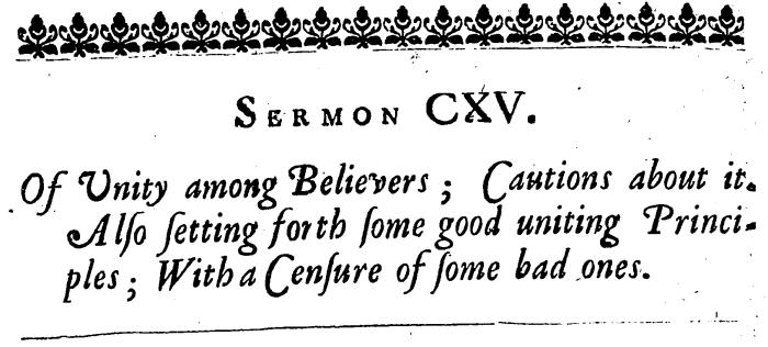 Anthony Burgess, CXLV Expository Sermons, 574