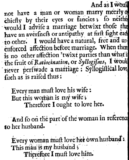 Thomas Hodges, A Treatise of Marriage, 30
