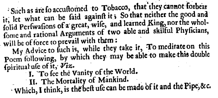 Two Broad-Sides Against Tobacco, 30