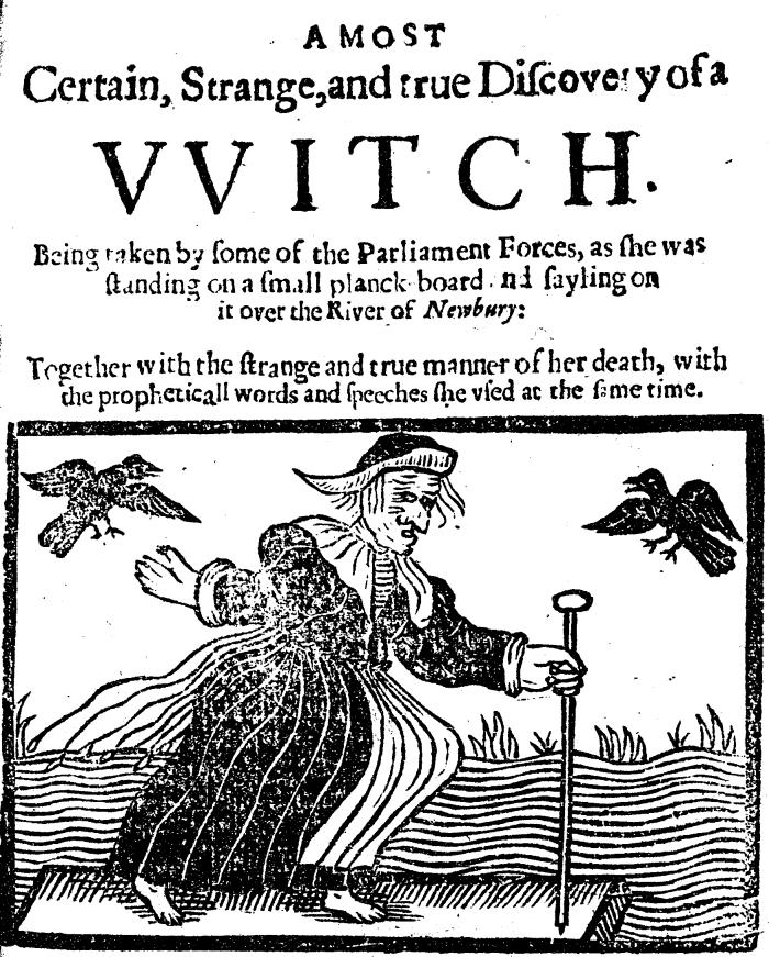 A Witch, 1643