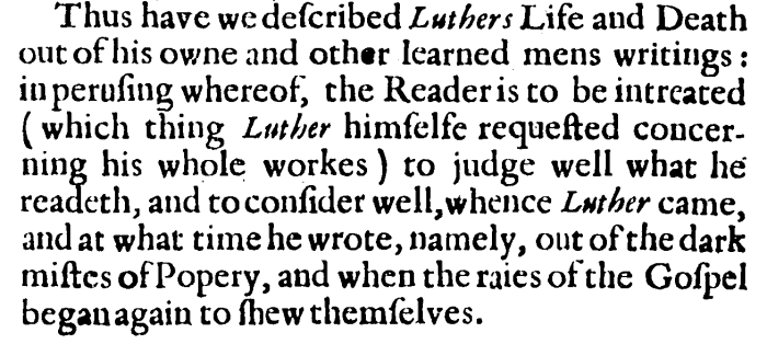 Adam Melchior, The life of Dr Martin Luther, 142
