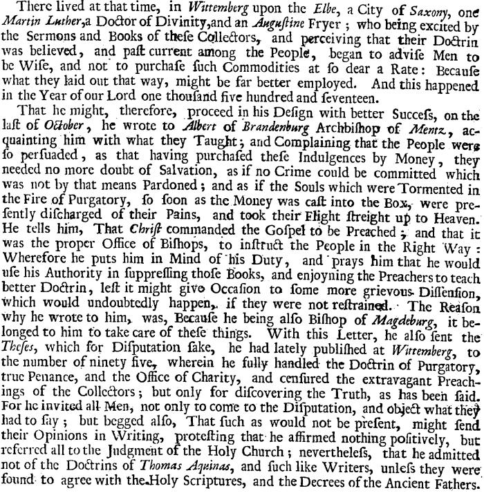 Sleidanus, The General History, 2