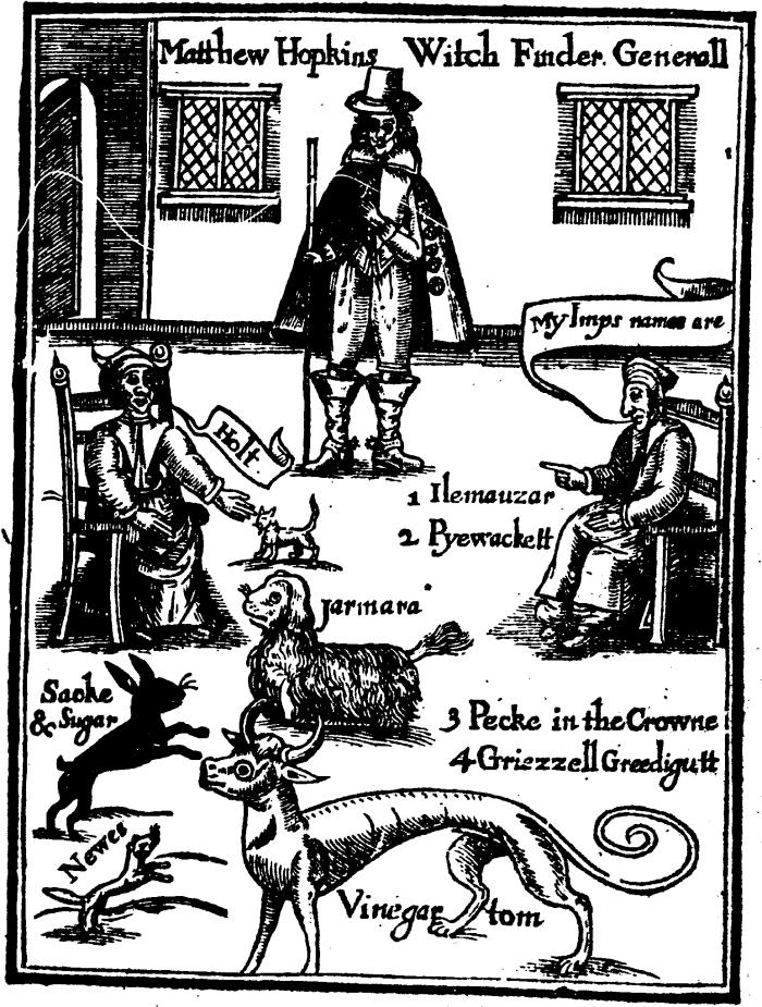 Witch Finder General, Matthew Hopkins