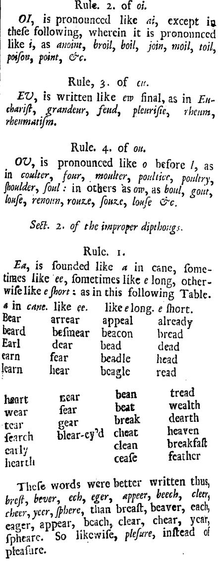 Joseph Aikin, The English Grammar, 41-42