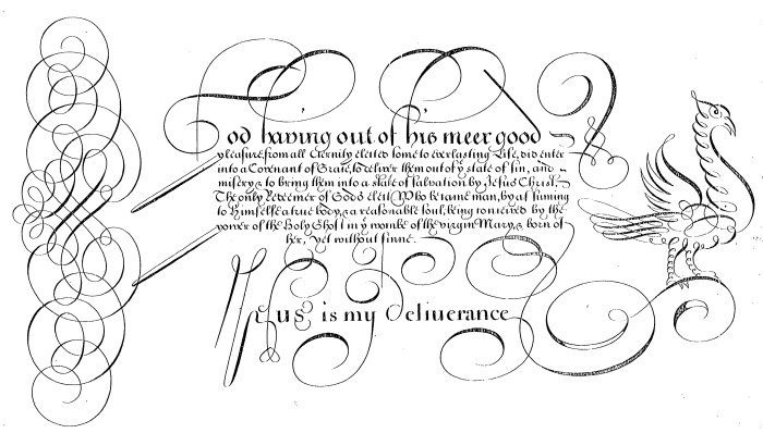 Edward Cocker, The Guide to Penmanship-1
