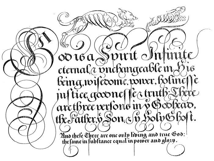 Edward Cocker, The Guide to Penmanship