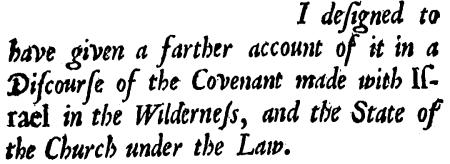 Nehemiah Coxe, A Discourse, Preface-1