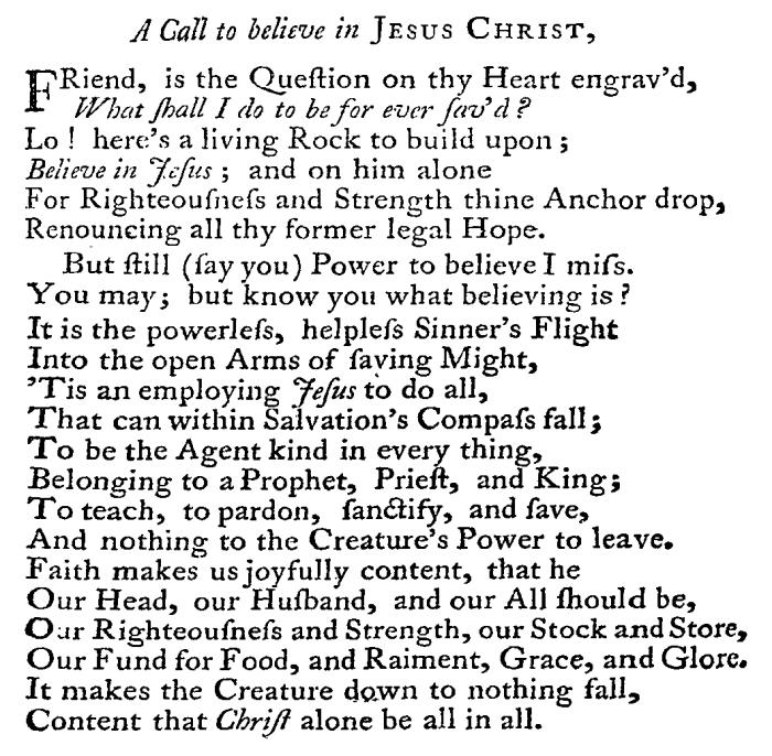 Erskine's Gospel Sonnets, 65-66
