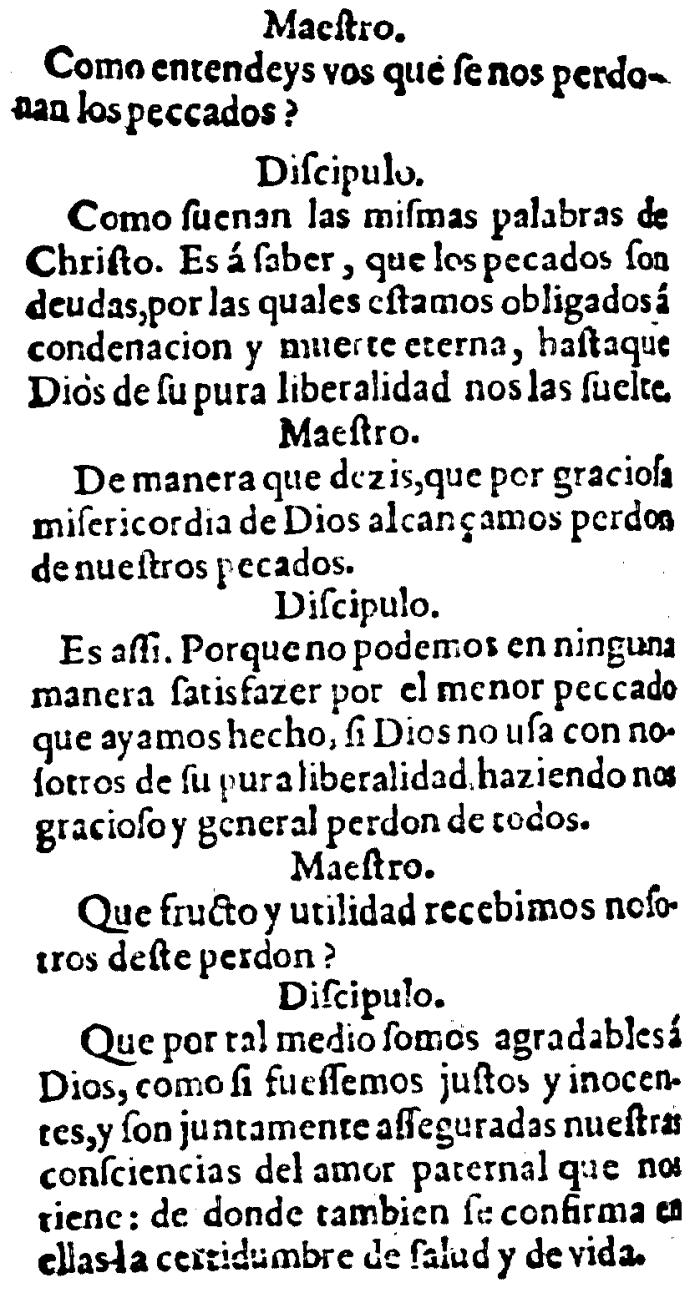 Juan Calvino, Catecismo, 115-116