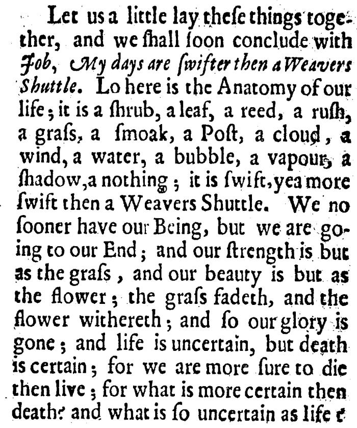 Robert Purnell, The Weavers Shuttle, 13