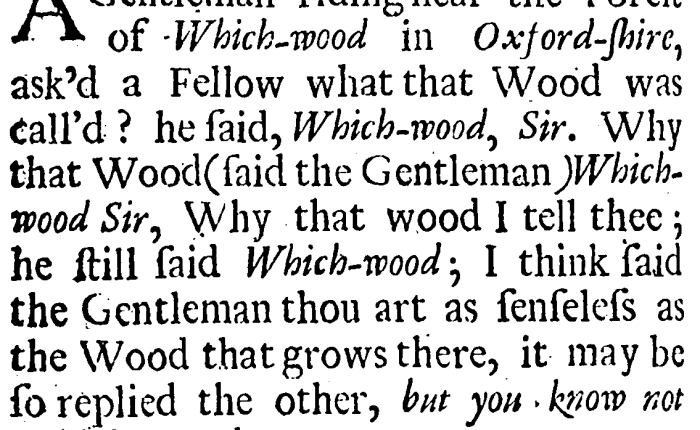 Of all the 17th-century humor I've encountered, this is one of myfavorites