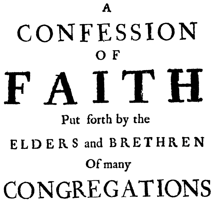 On the Need for and Practice of Confessing the Faith