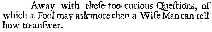 John Owen, A Short and Plain Answer, 3